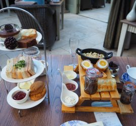 Afternoon Tea at Coombe Abbey Hotel, Coventry – Review ★★★★☆