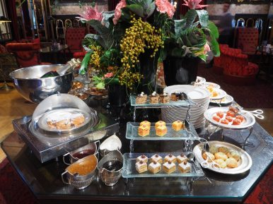 The Afternoon Tea Cakes & Sweets buffet