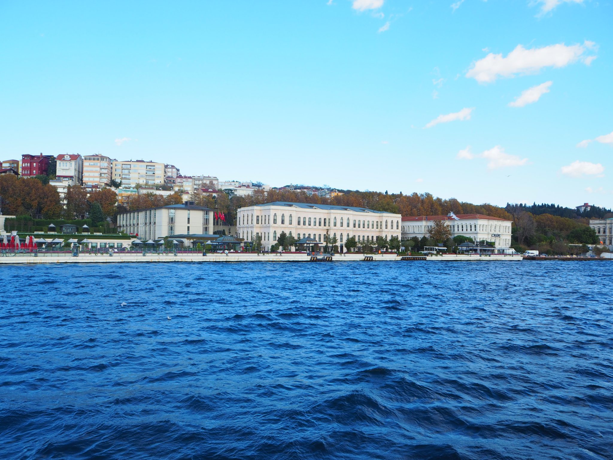 Four Seasons Istanbul at the Bosphorus - View from the Bosphorus Tour boat