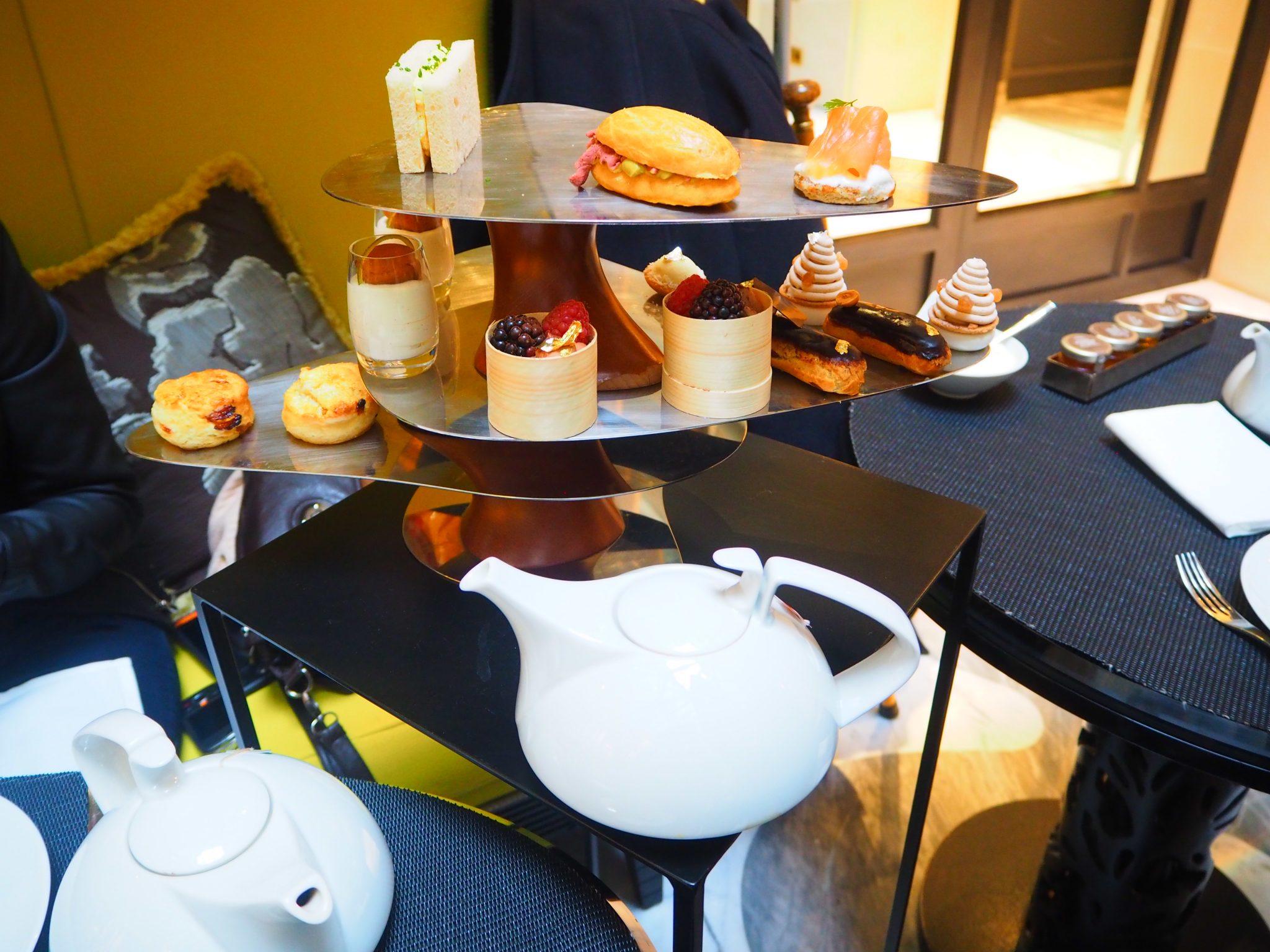 Afternoon Tea Burgundy Paris