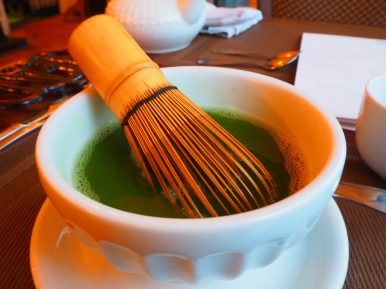 Matcha kawa - Afternoon Tea at Le Parloir tea room / Afternoon Tea au Salon de Thé Le Parloir