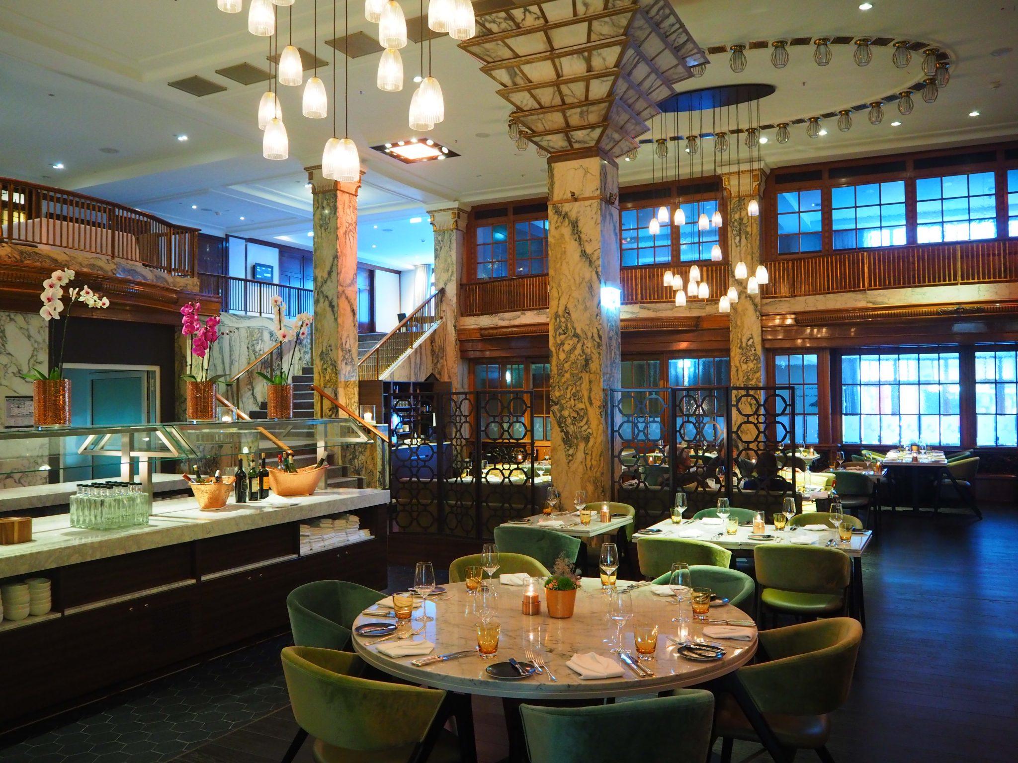 Stadt Restaurant - Reichshof Hamburg, Curio Collection by Hilton