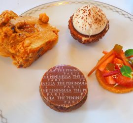 Afternoon Tea at The Peninsula Paris Hotel – Review ★★★★☆ (English/Anglais)