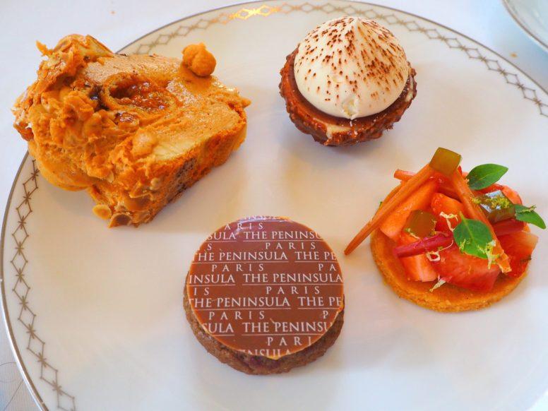 Paris-Brest; Tiramisu; Granola & Shortcake sablé - Peninsula Paris