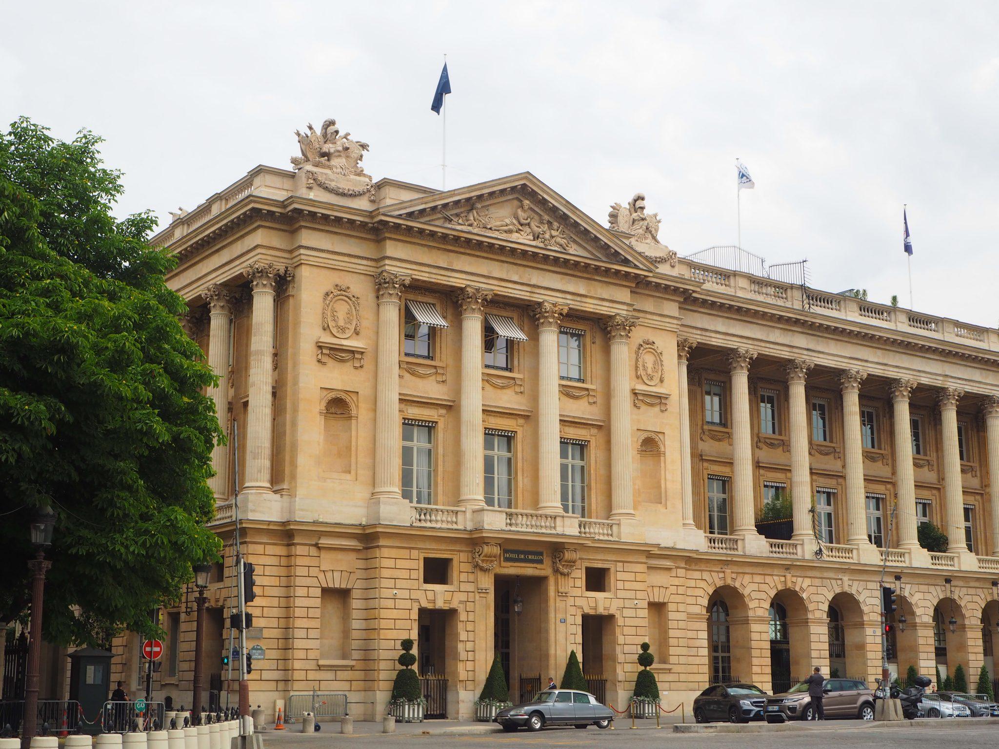 Hôtel de Crillon Paris- Façade