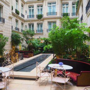 Hôtel de Crillon Paris - Terrace/ Terrasse Brasserie d'Aumont