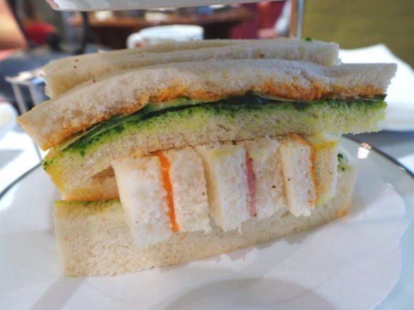 Sandwiches Savouries / Salé - Afternoon Tea / Tea Time Hotel Daniel Paris