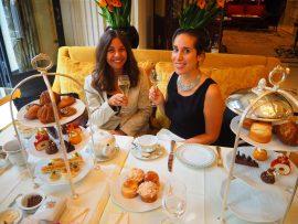 Tea Time de l'Hôtel Four Seasons George V Paris – Avis ★★★★★ (French/Français)