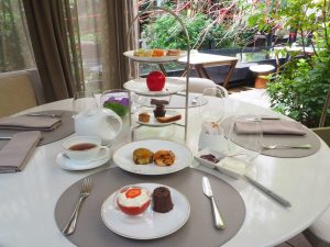 Afternoon Tea / Tea Time at the Mandarin Oriental Paris