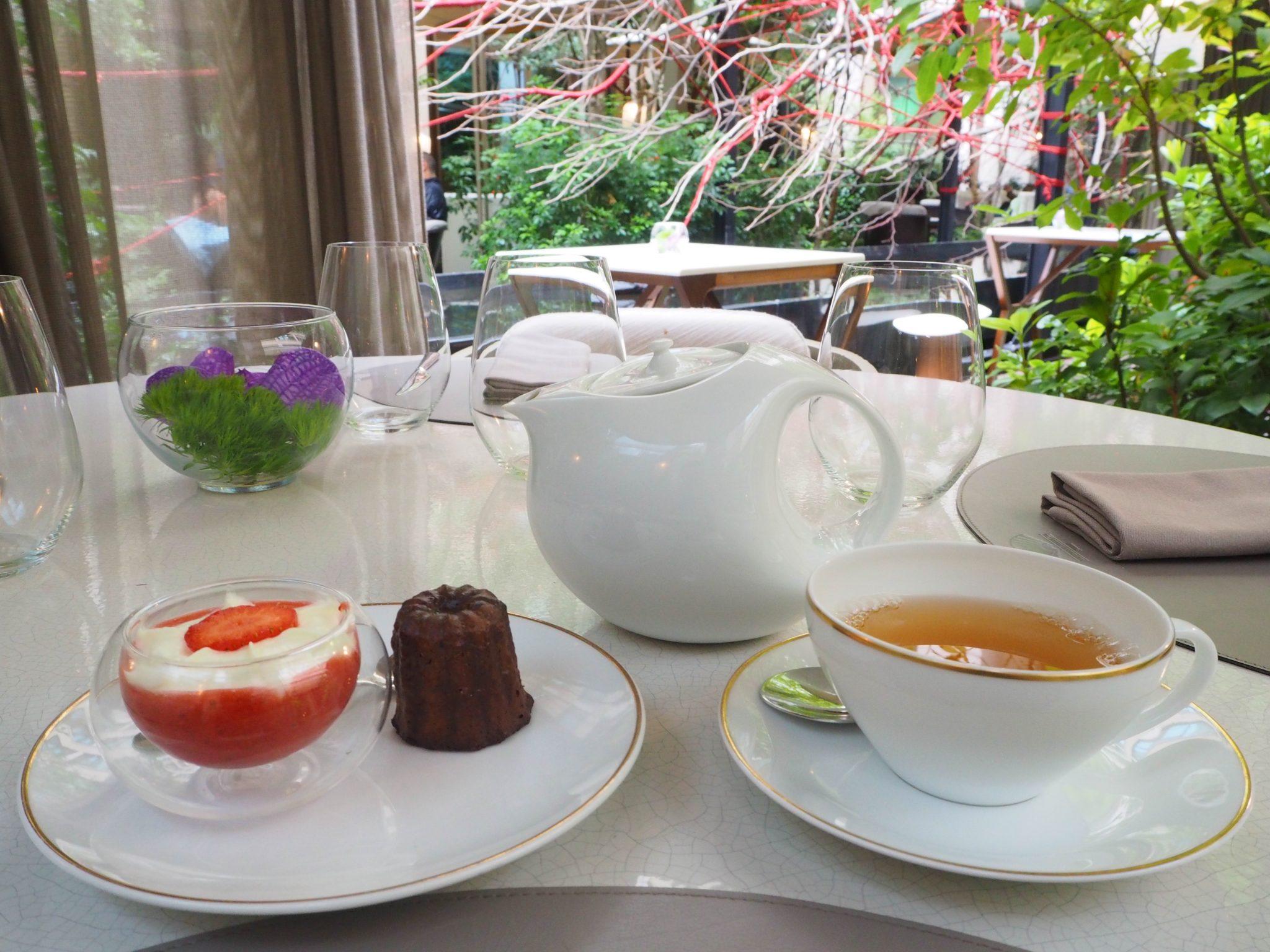 Oolong tea & Desserts / Thé Oolong & Desserts