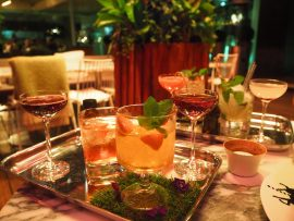Mad Hatter's Tipsy Evening Tea at the Sanderson Hotel London - Review ★★★★☆