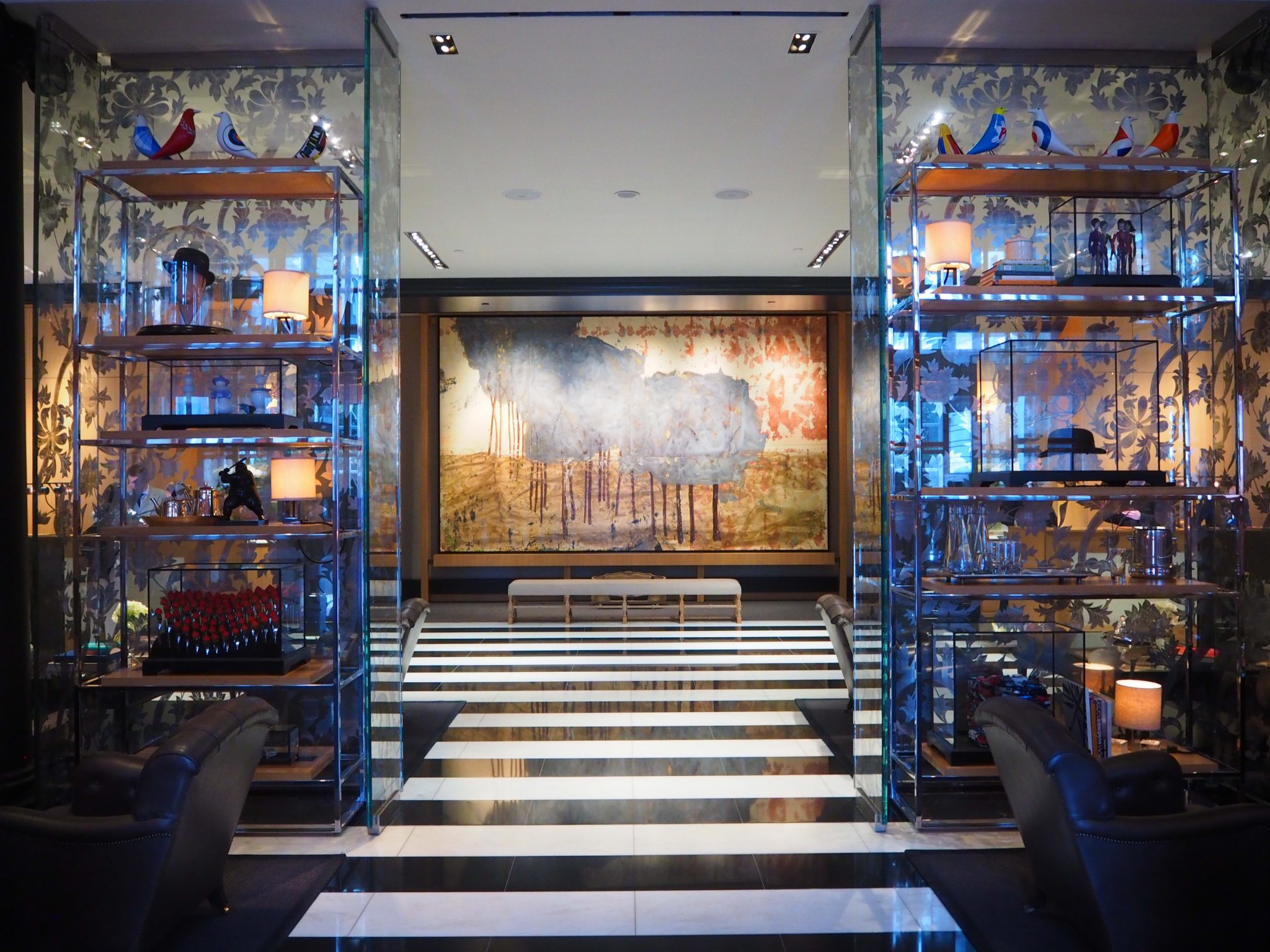 The Rosewood London lobby