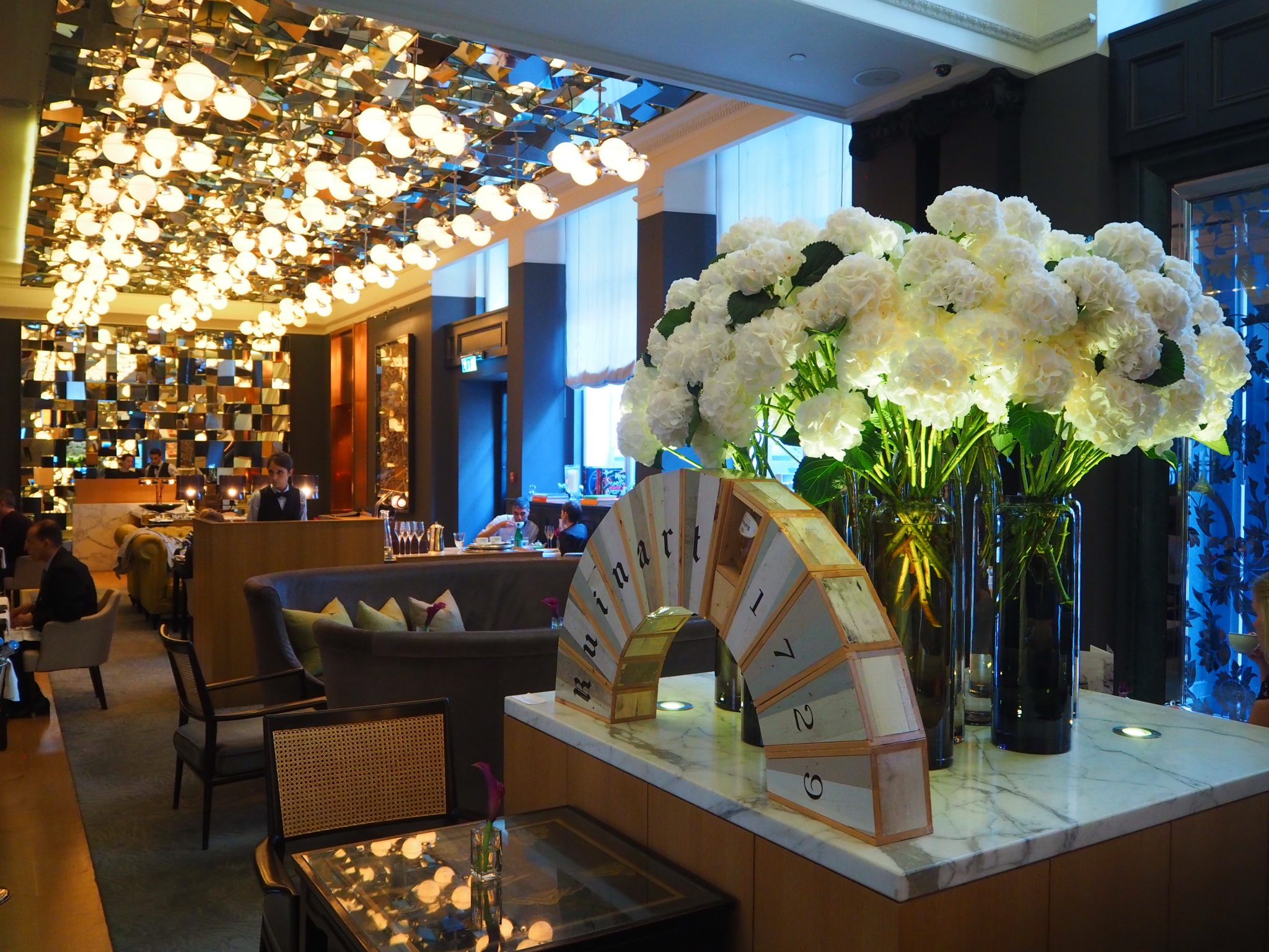 The Mirror Room at the Rosewood London