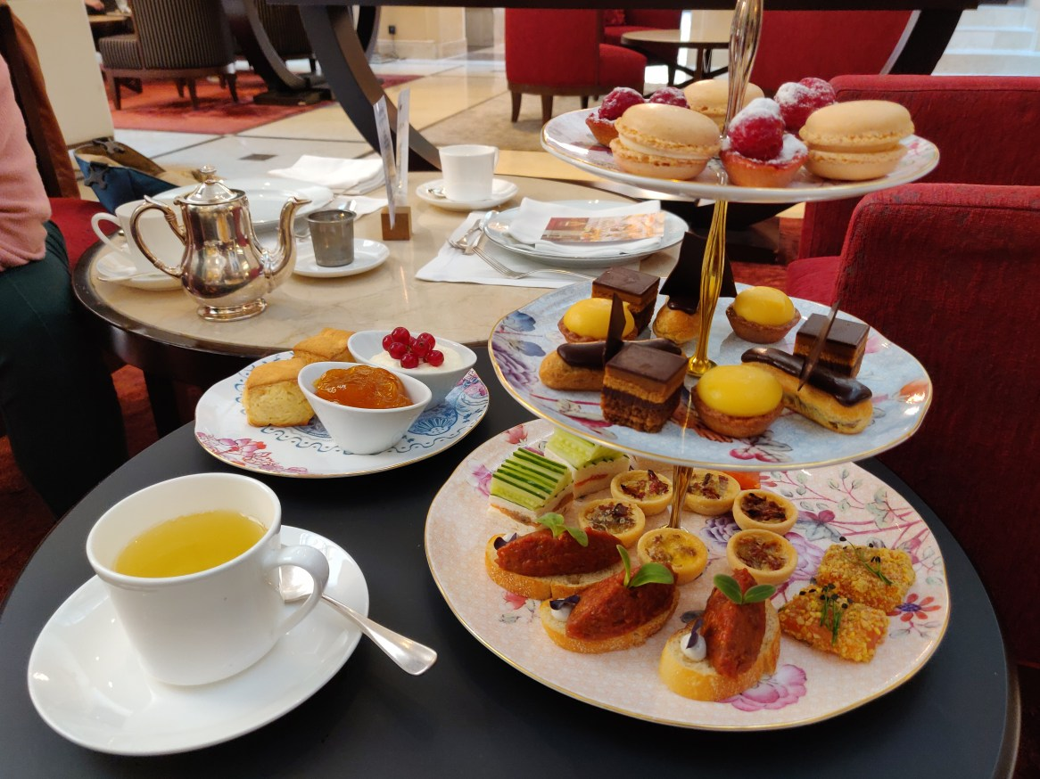 Afternoon Tea at Palais Hansen Kempinski Vienna (October 2020)