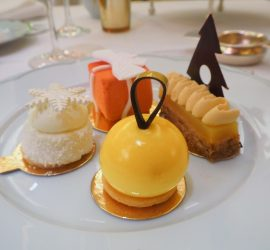 Festive Champagne Afternoon Tea at The Dorchester London – Review ★★★★★