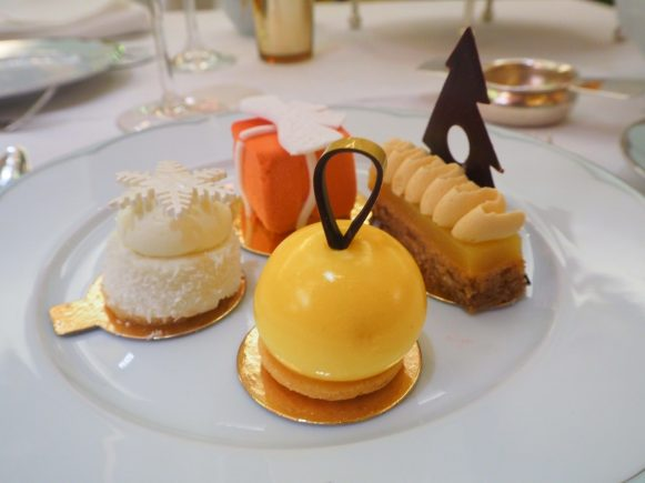 Festive Champagne Afternoon Tea at The Dorchester London