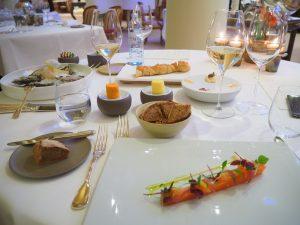 Dinner at Restaurant Le Ciel byToni Mörwald