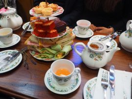 Tipsy Afternoon Tea at Mr Fogg's Residence Cocktail Bar, London - Review ★★★★☆