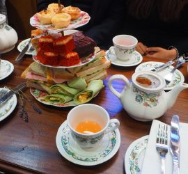 Tipsy Afternoon Tea at Mr Fogg's Residence Cocktail Bar, London – Review ★★★★☆