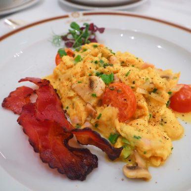 Breakfast at Hotel Sacher Vienna