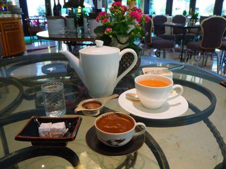 Turkish Coffee & Green Tea
