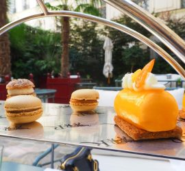 Tea Time de La Réserve Paris Hotel & Spa – Avis ★★★★★ (French/Français)