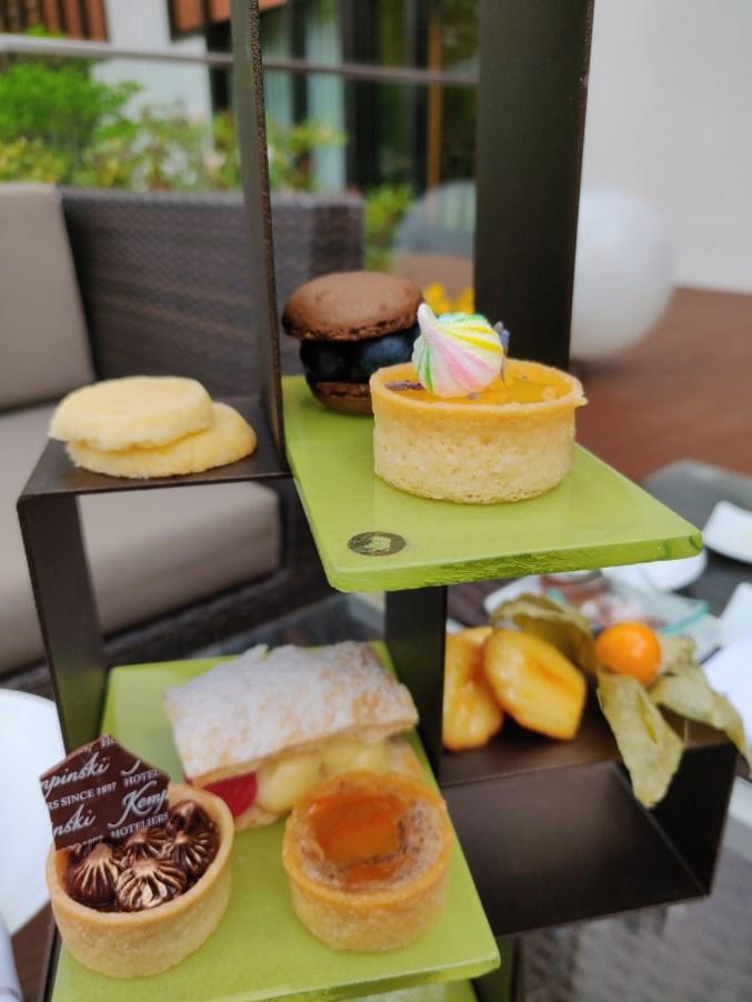 Afternoon Tea / High Tea at Hotel Kempinski Frankfurt Gravenbruch
