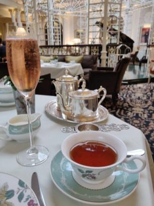 JING tea a Rosé Champagne