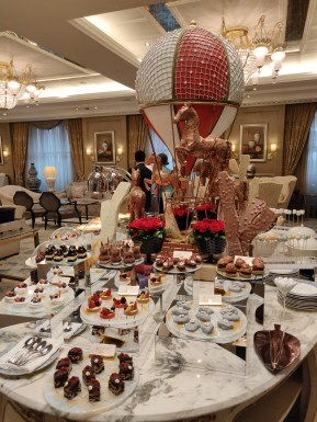 Afternoon Tea at the Shangri-La Bosphorus Istanbul - Cakes & Sweets