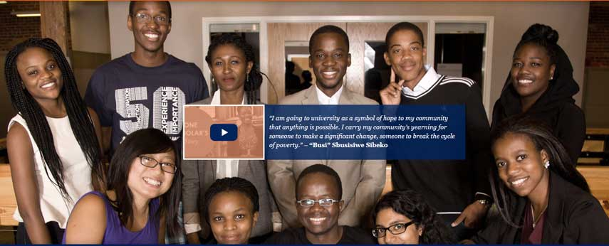 UP And MasterCard Foundation Scholarship Program For Africans In South Africa