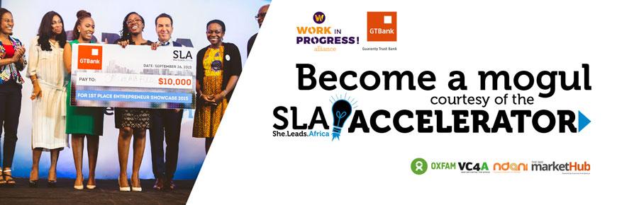 she leads Africa Accelerator