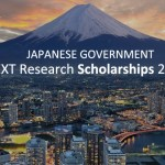 Government of Japan (Monbukagakusho: MEXT) Scholarships for Research Students 2017/2018