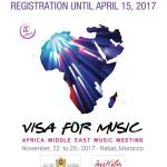 Apply: Visa for Music 2017 for Musicians from Africa and the Middle East – Morocco