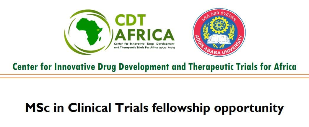 CDT-Africa Masters in Clinical Trials Fellowship for African