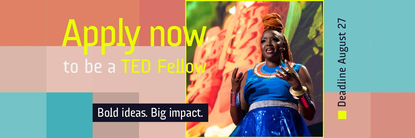 TED Fellows Programme (Fully-funded to Vancouver, Canada