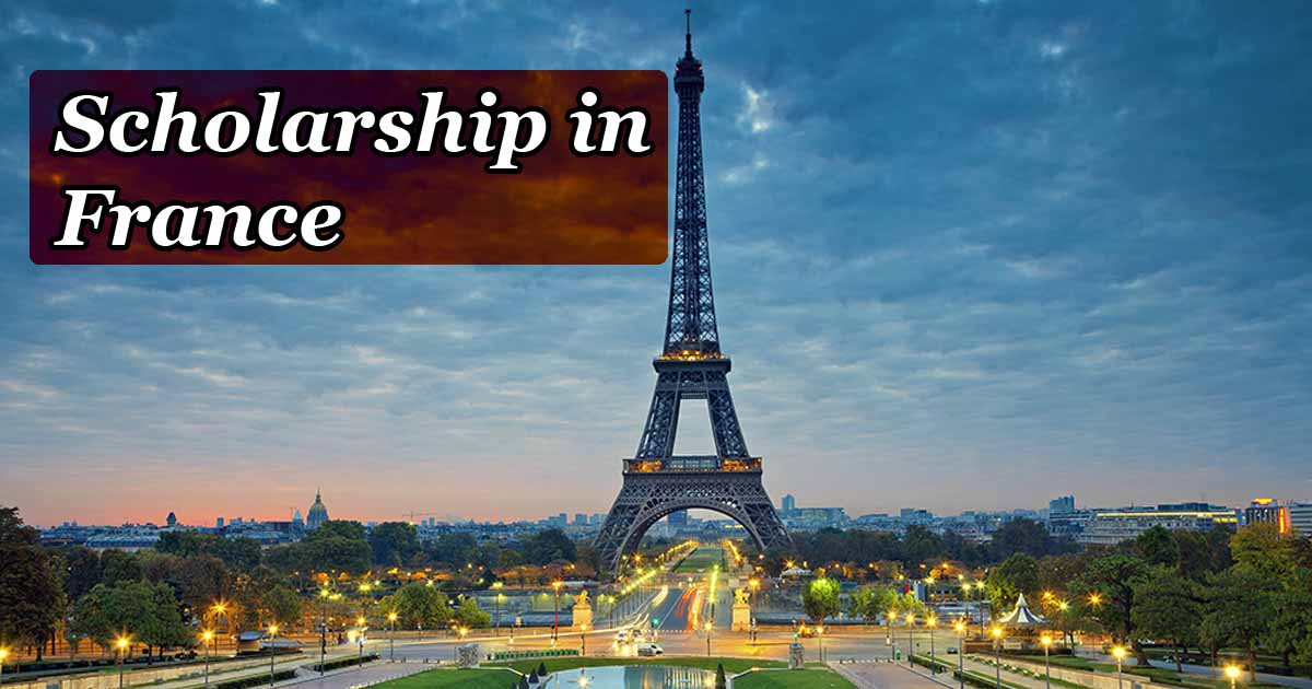 30+ Scholarships in France for International Students ...