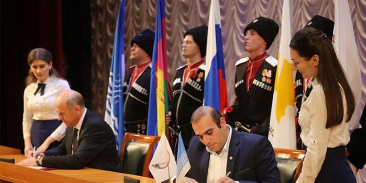 Αδελφοποίηση μεταξύ του Δήμου Αγίας Νάπας και Γκελεντζίκ Ρωσίας