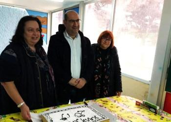Ο Πρόεδρος της Ένωσης Δήμων Κύπρου Ανδρέας Βύρας παρέδωσε ηλεκτρονικό εξοπλισμό στο Δημοτικό Ραφήνας