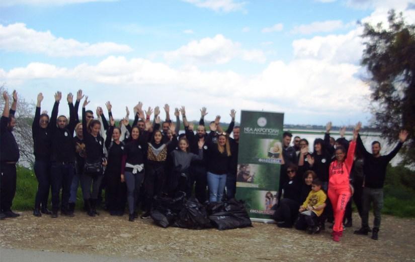 Πρωτοβουλία καθαρισμού υγροβιότοπου Αλυκής