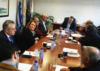 Συνάντηση Επιτροπής Κατεχόμενων Δήμων με Ν. Παπαδόπουλο