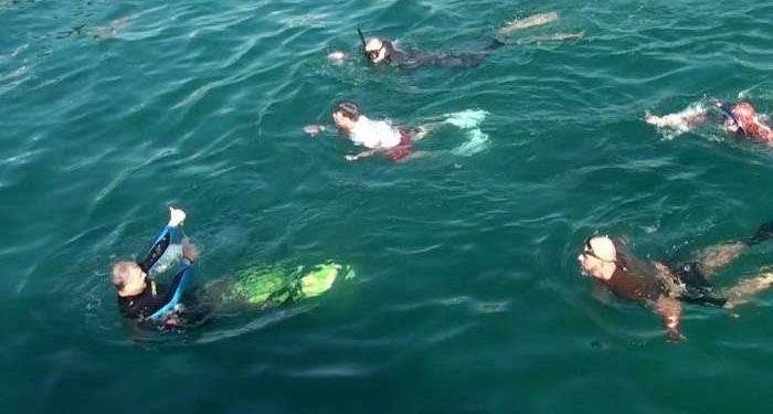 Λουκάς Φουρλάς κολύμπησε
