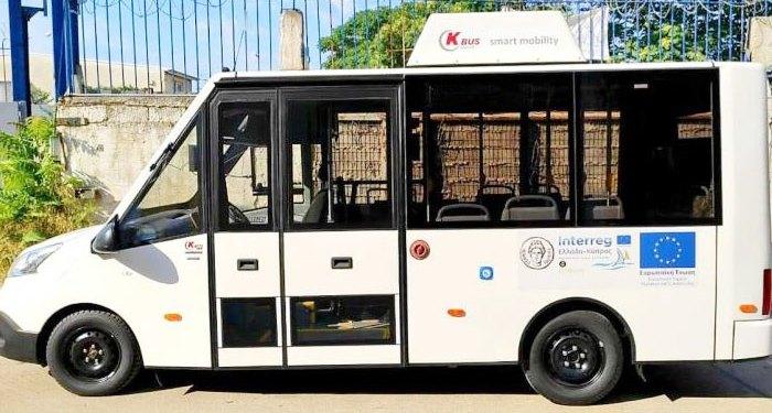 ηλεκτροκίνητο λεωφορείο