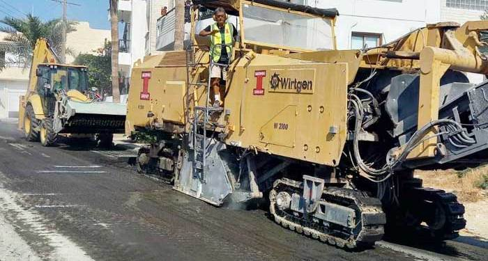 Ξεκίνησε η 4η φάση επαλείψεων του οδικού δικτύου στη Λάρνακα