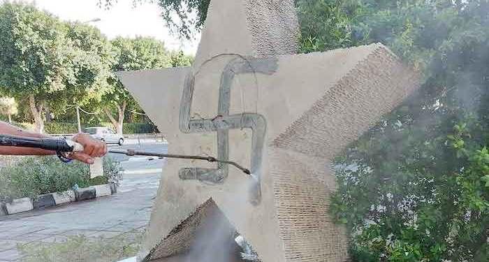 Αποκαταστάθηκε το μνημείο του Χοσέ Μαρτί στη Λευκωσία μετά τον βανδαλισμό του