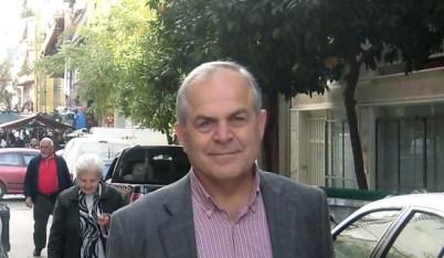 Ο Δήμαρχος Καισαριανής Ηλ. Σταμέλος