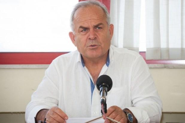 Ο Δήμαρχος Καισαριανής Ηλίας Σταμέλος
