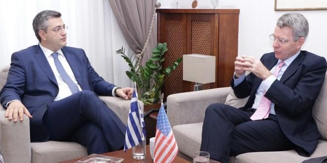 νέο Πρέσβη των ΗΠΑ στην Ελλάδα