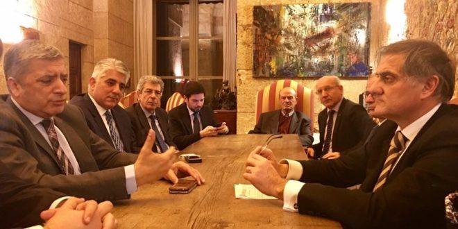 Συνεργασία Αυτοδιοικήσεων Ελλάδας και Ιταλίας πατουλης σικελια