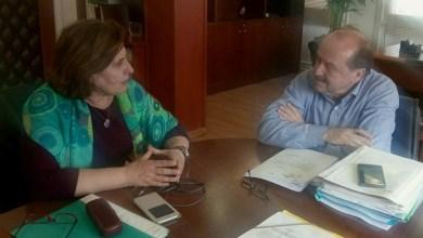 ΕΦΚΑ συναντήθηκε η Περιφερειάρχης Βορείου Αιγαίου