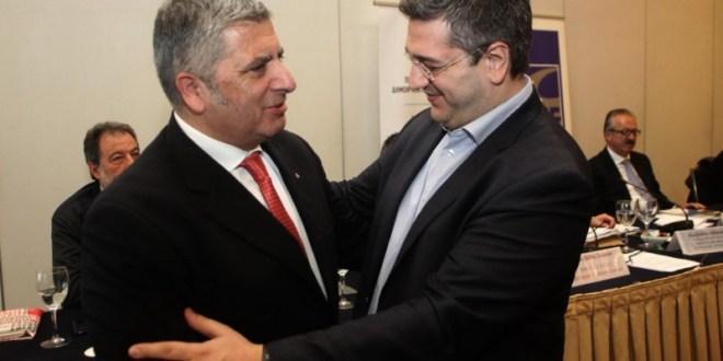 Κοινή Συνέντευξη Τύπου του Προέδρου της ΚΕΔΕ Γ. Πατούλη και του Περιφερειάρχη Κ. Μακεδονίας Απ. Τζιτζικώστα για τις αλλαγές στον Καλλικράτη